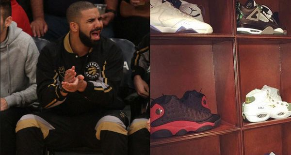 Drake Shows Off His Sneaker Collection During Quarantine
