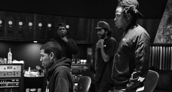 Jay-Z & Jay Electronica Spotted In Studio With Young Guru