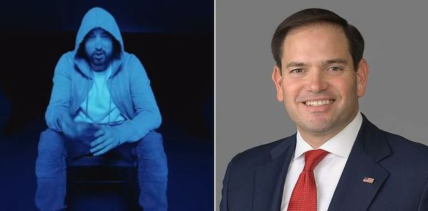 Macro Rubio's Coronavirus Gaffe May Have Birthed New Eminem album