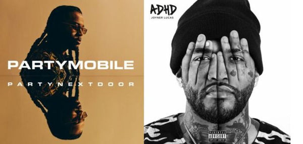 Opening Week Projections For Joyner Lucas 'ADHD' & PARTYNEXTDOOR 'PARTYMOBILE'