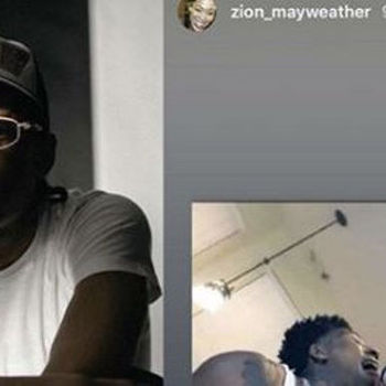 Floyd Mayweather's Son Zion Comes For NBA YoungBoy & His Fans