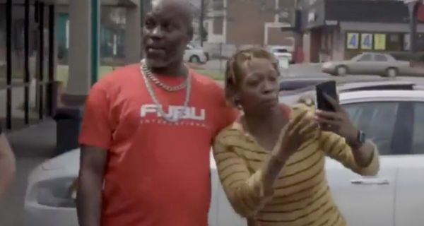 Woman Spots DMX Outside And Goes Absolutely Nuts