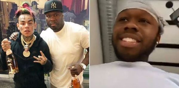 50 Cent's Son Marquise Speaks On Tekashi 6ix9ine Trolling His Estranged Dad