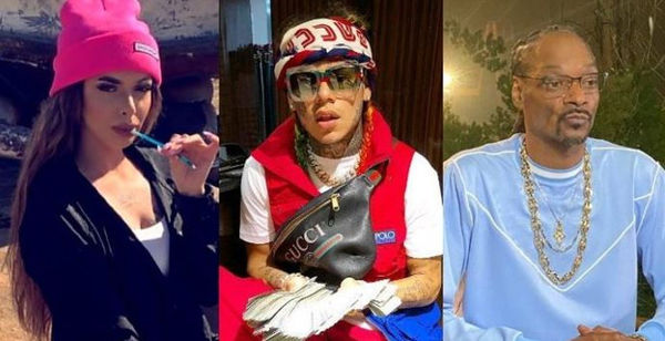Could Tekashi 6ix9ine Be Headed Back To Jail Because Of Snoop Dogg-Celina Powell Video?