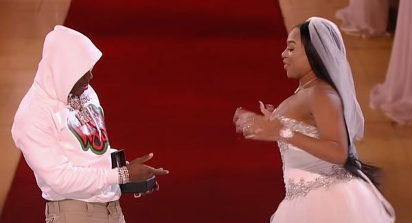 DaBaby Proposed Marriage To B. Simone on 'Wild 'N Out'