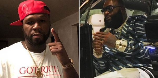 Rick Ross Reveals True Nature Of His Beef With 50 Cent In Affidavit