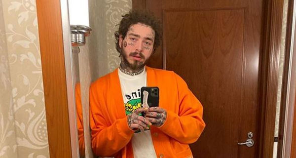 See What Happens When Post Malone Cuts His Own Mullet