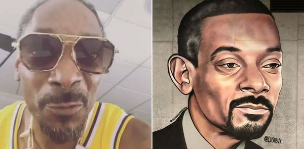 Street Artist Lushsux Beaten Down For Painting 50 Cent Turns To Snoop Dogg
