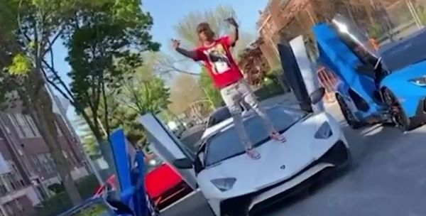 Tekashi 6ix9ine Bait: Rich The Kid In Hot Water After Stomping On Rented Lamborghini