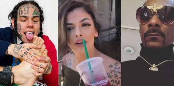 Tekashi 6ix9ine Brings Snoop Dogg's Wife Into their Beef; Celina Powell Video Leaks