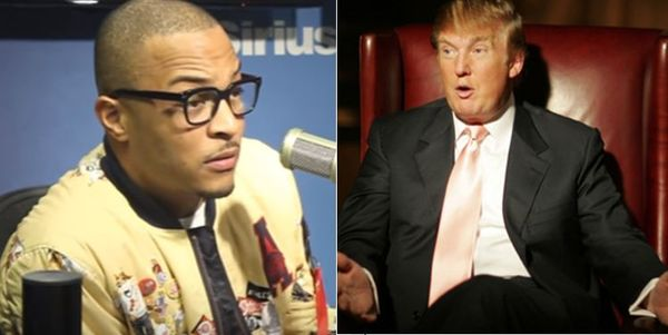 "T.I. Responds After Donald Trump Uses ""Whatever You Like"" To Attack Joe Biden"