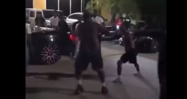 Watch Maxo Kream Fight Rizzoo Rizzoo In A Parking Lot