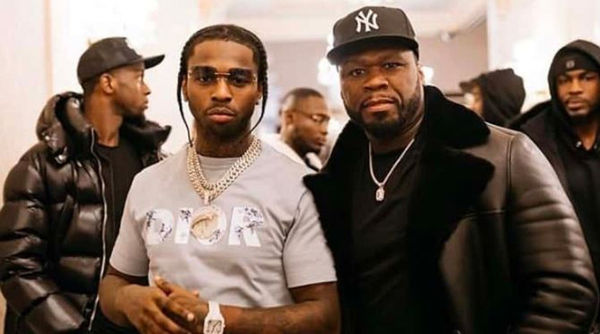 50 Cent Speaks On his First Meeting With Pop Smoke