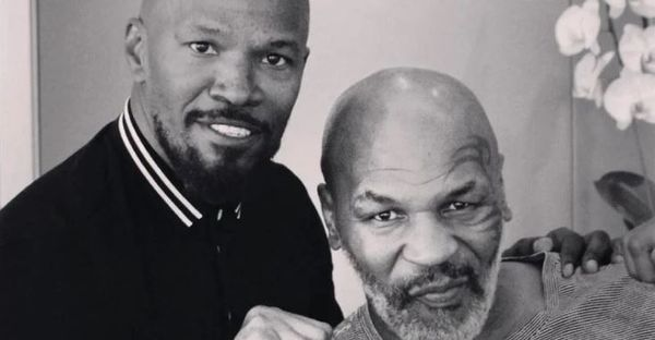 Check Out Jamie Foxx's Mike Tyson Body For Biopic
