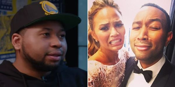"DJ Akademiks Says John Legend Better Check His ""Bitch"" Chrissy Teigen"