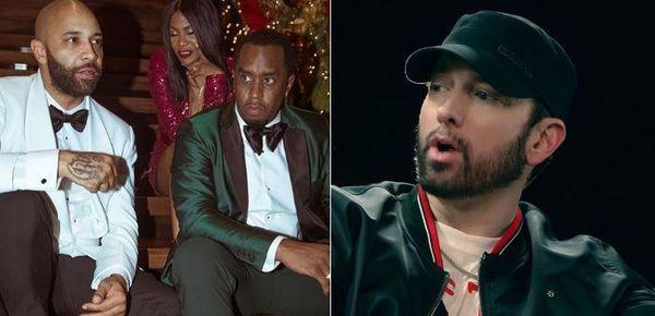 """Eminem Comes After Joe Budden & Diddy's Revolt on """"Bang"""" Alternative Verse"""
