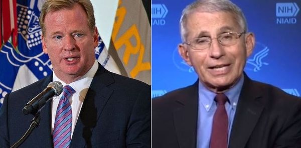 Dr. Fauci: NFL Season In Jeopardy