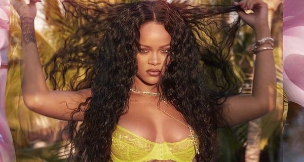Rihanna Shows Her Assets In New Lingerie Pics
