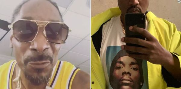 Snoop Dogg Is Getting Ripped For Getting In The Studio With Kanye