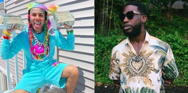 Tekashi 6ix9ine Clowns Gucci Mane After The Old Gucci Attacks the Young Troll