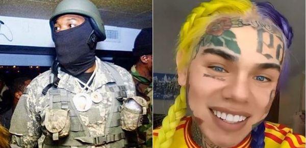 Tekashi 6ix9ine Clowns On Meek Mill For Not Protesting