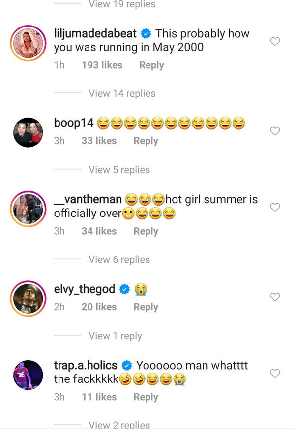 Megan Thee Stallion's Producer Lil Ju Comes For 50 Cent Over Memes