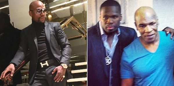 50 Cent Says Floyd Mayweather Paid For Mike Tyson's Rape Accuser's Lawyer