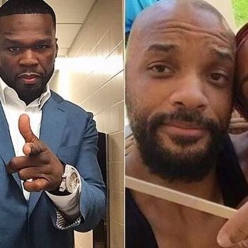 50 Cent Shares DM From Will Smith After Jada-August Alsina Confession
