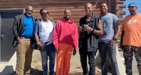 Dave Chappelle Visits Kanye West At Wyoming Ranch
