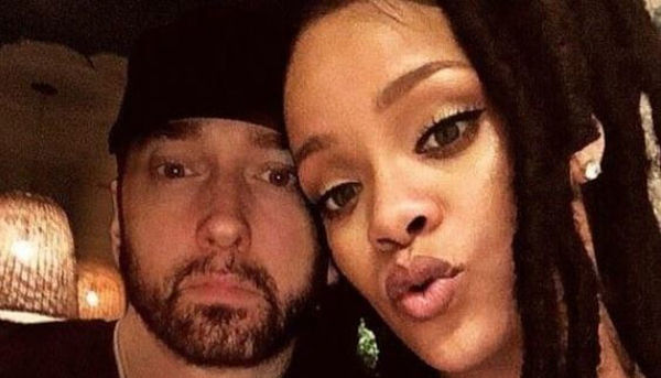 Eminem and Rihanna have Something Cooking