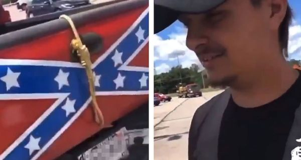 Indiana Man Doesn't Think His Confederate Flag Truck With Noose Is Racist