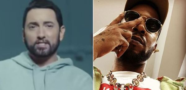 Kid Cudi Finally Reveals What He Has Cooking with Eminem