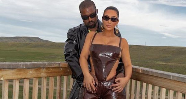 Kim Kardashian Travels To Wyoming To Visit Kanye West