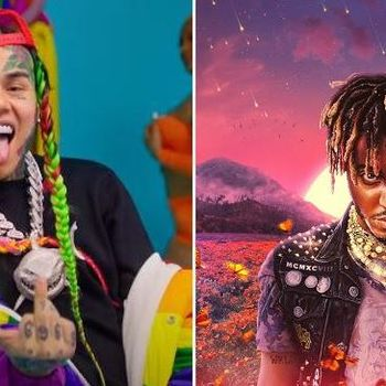 "Tekashi 6ix9ine's Mocks Juice WRLD & Pop Smoke's ""Fake Love"" Sales Numbers"