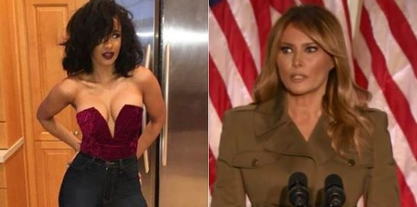 Cardi B Suggests Melania Trump Is A Hooker; Finds Her Nudes