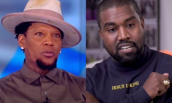 D.L. Hughley Explains Why He Thinks Kanye West Is 'The Worst Kind Of Human Being'