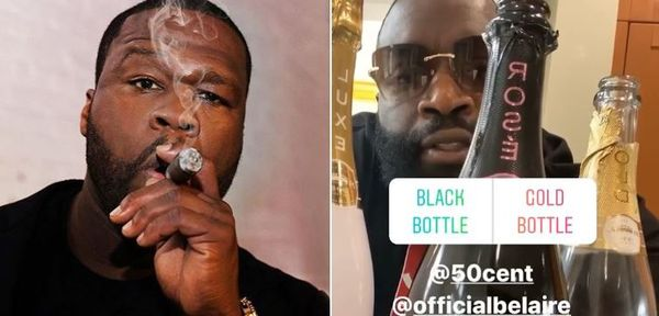 Rick Ross Mocks 50 Cent After Fif's Legal Defeat To Him