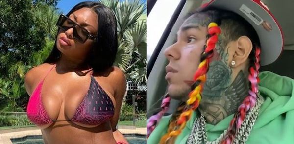 Tekashi 6ix9ine Co-signs Megan Thee Stallion After She Snitches On Tory Lanez
