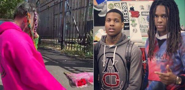 Tekashi 6ix9ine Trolls Chicago By Mourning Lil Durk's Cousin Nuski On O Block