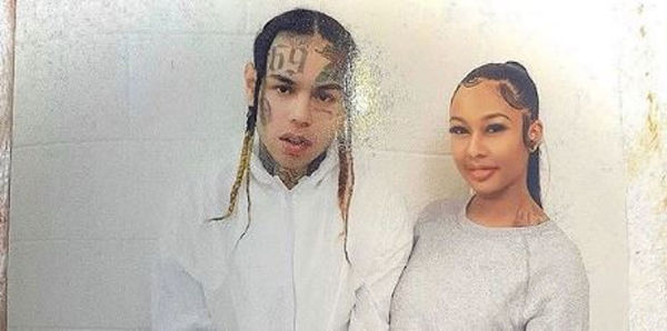 Tekashi 6ix9ine's Pregnant Girlfriend Jade Confirms He's a Cop