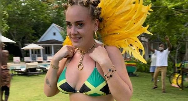 Twitter Fights About Adele's Jamaican Outfit