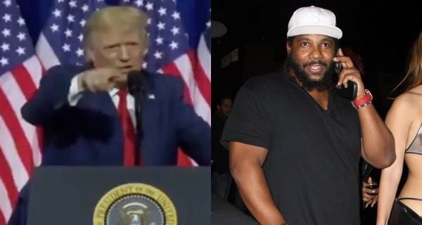Donald Trump Shouts Out Producer Polow da Don At Rally