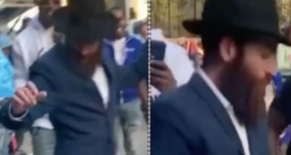 Orthodox Jewish Landlord Pulls Up To Pop Smokes Block & Shows Off Woo Walk