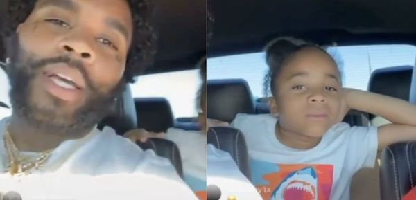 Kevin Gates' Son Checks Fan Who Thinks He's a Girl