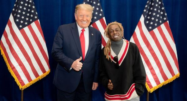 Lil Wayne Co-Signs Donald Trump In Front Of Election
