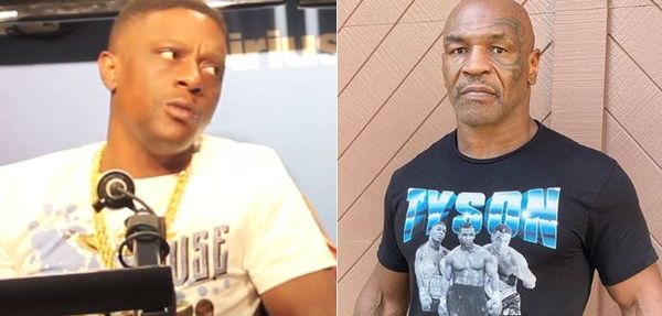 Mike Tyson Suggests Boosie Badazz Is Gay To His Face
