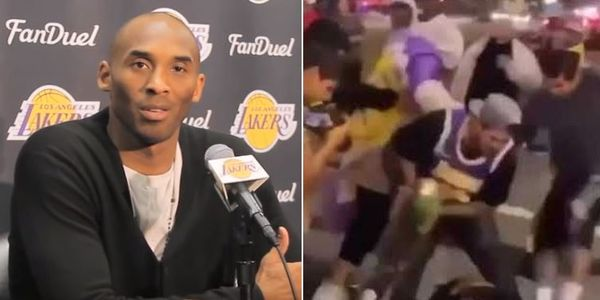 Watch a Man Get Pummeled by Lakers Fans for Saying F*ck Kobe Bryant [VIDEO]