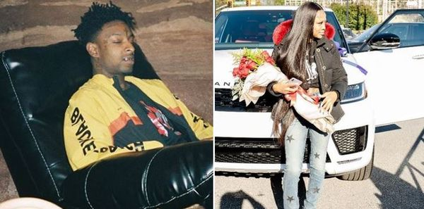 21 Savage Buys King Von's Sister Kayla A Very Expensive Gift