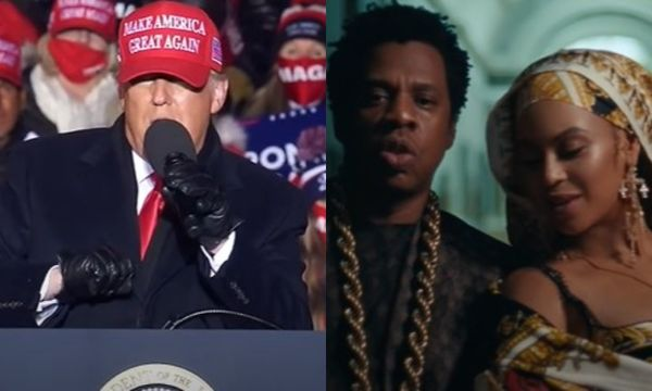 Donald Trump Blasts Jay-Z and Beyonce for Supporting Democratic Party