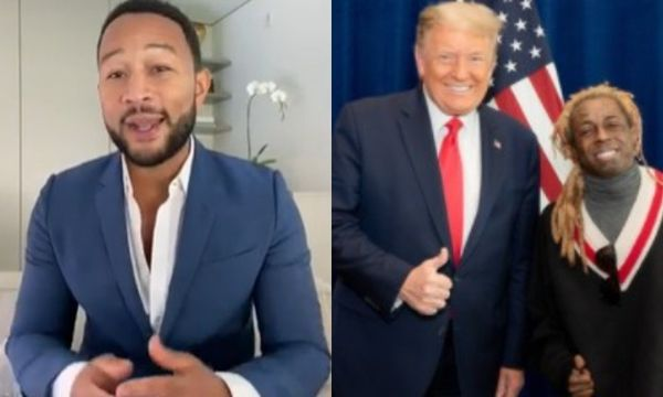 John Legend Slams Lil Wayne, Lil Pump & Other Rappers For Endorsing Trump